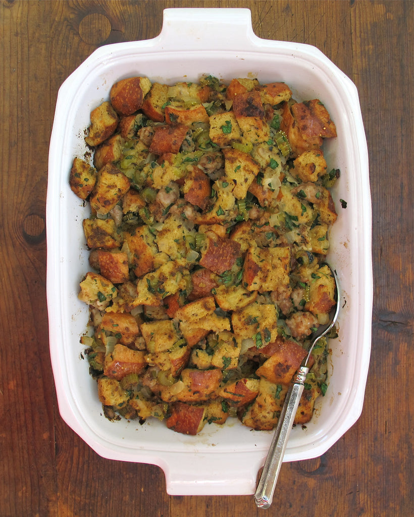 Chesapeake Oyster Stuffing