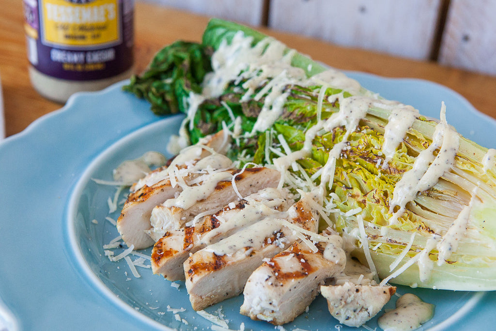 Grilled Chicken (Creamy) Caesar Salad