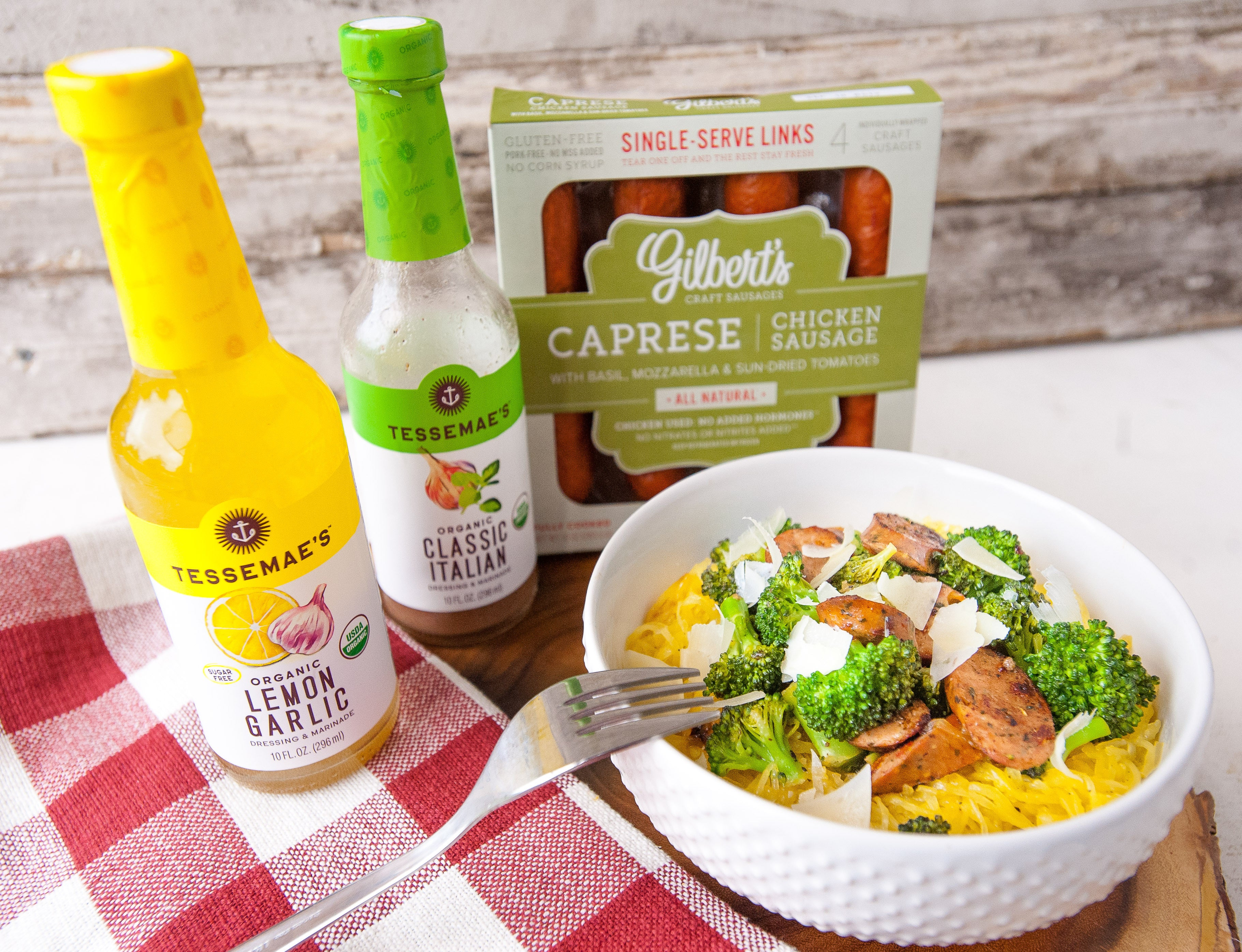 Cook with tessemaes tessemaes all natural recipe blog tessemaes we decided to practice practice more food freedom forever mantras by making this amazing dish with gilberts craft sausages that are made with all clean forumfinder Image collections