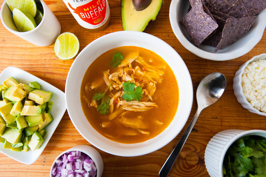 Sunday Night Soup: Mexican Chicken