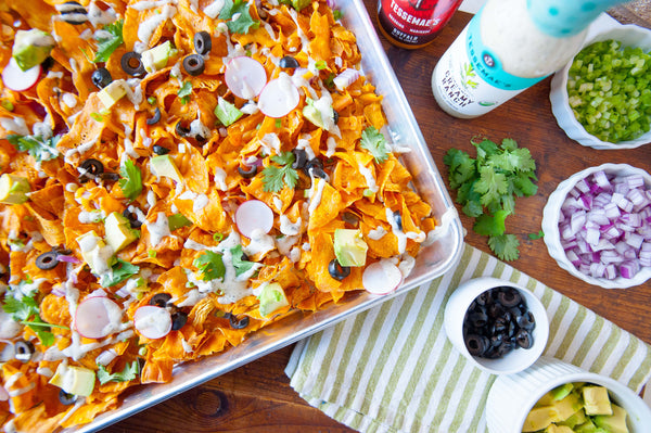 Sheet Pan Sweet Potato Nachos