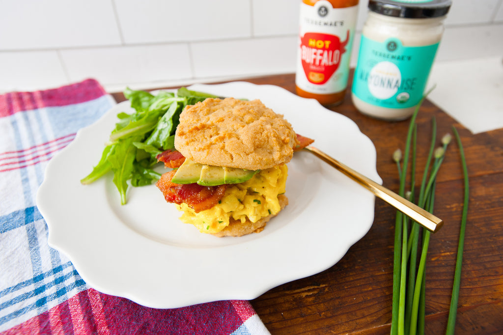 Mother's Day Paleo Breakfast Sandwiches