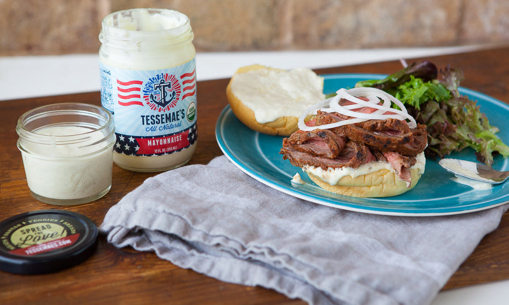 Labor Day Feast: Pit Beef Sandwiches with Tiger Sauce