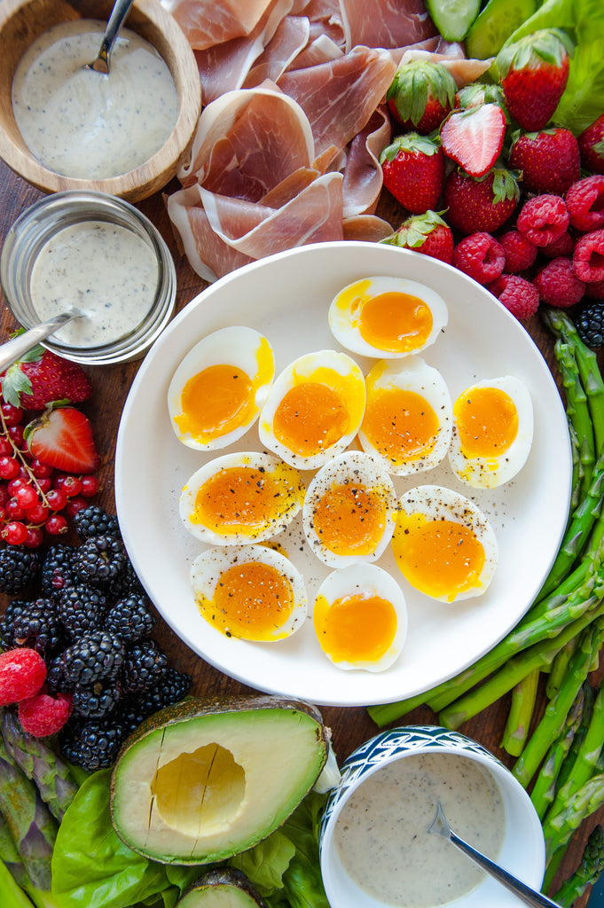 Egg, Asparagus & Ranch Brunch Platter