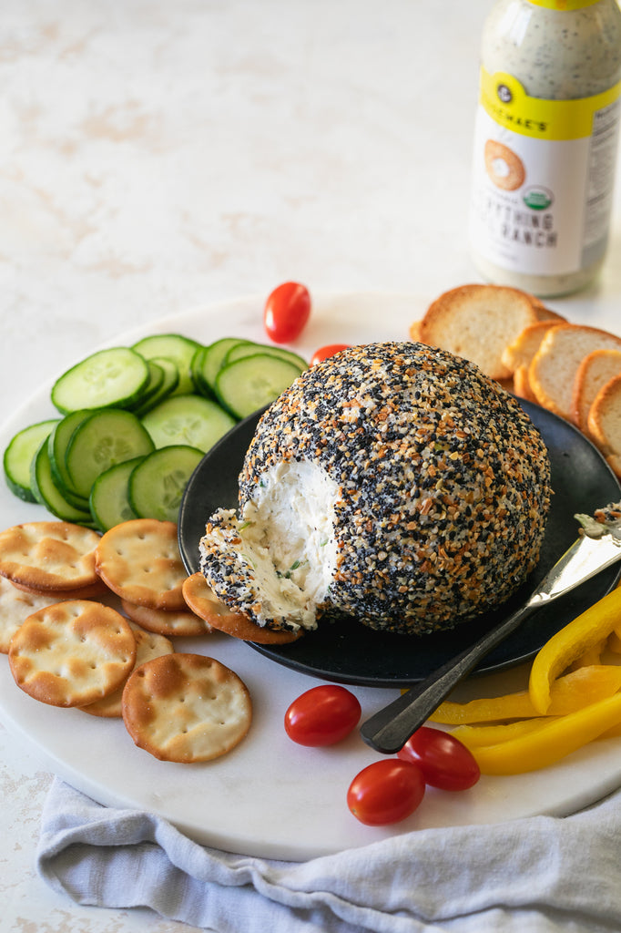 Everything Bagel Ranch Cheeseball
