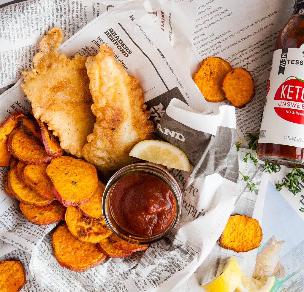 Fish & Sweet Potato Chips