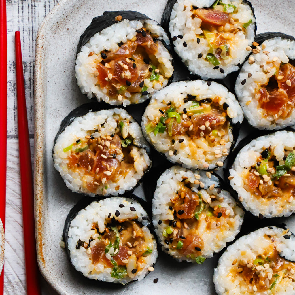Spicy Tuna Sushi Rolls