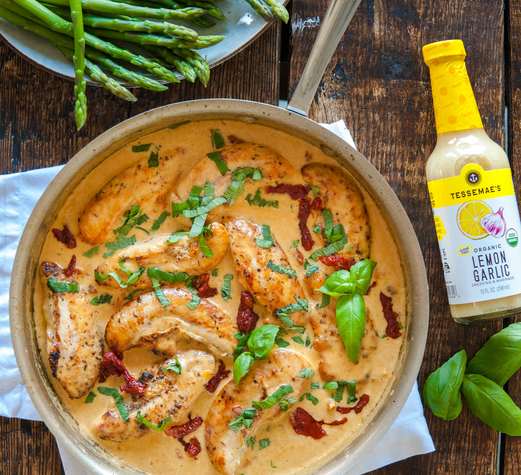 Easy Creamy Tuscan Chicken