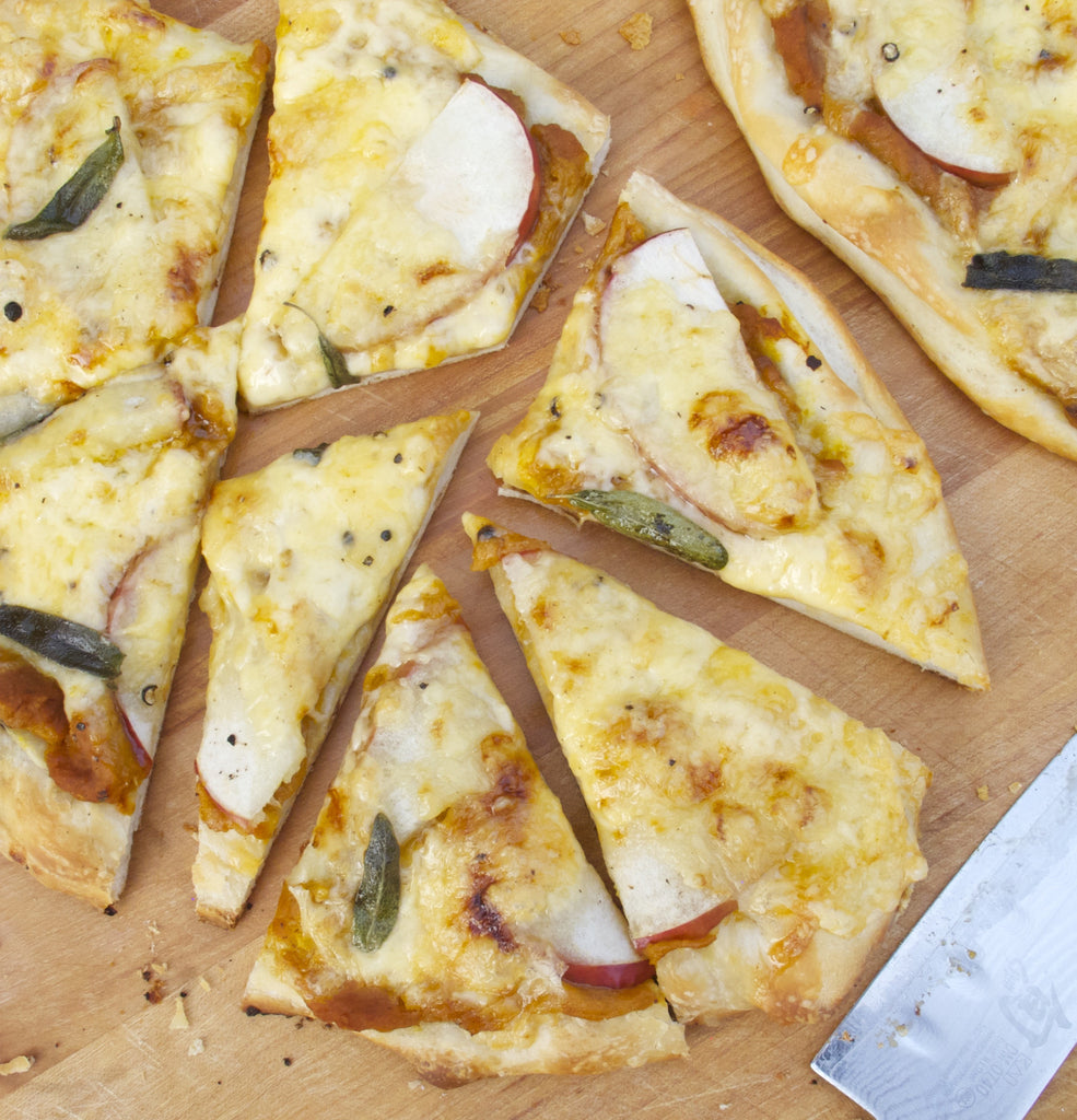 Pumpkin, Sage & Gouda Pizza