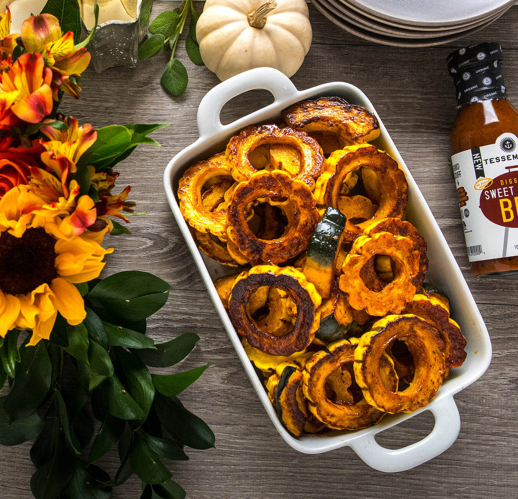 BBQ Butter Roasted Winter Squash