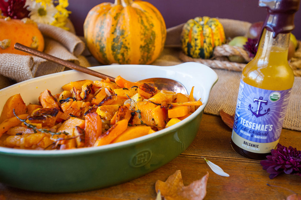 Roasted Shallots & Butternut Squash