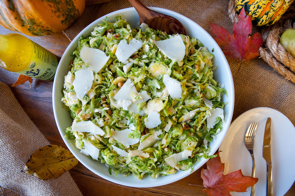 Marinated Brussels Sprouts Salad