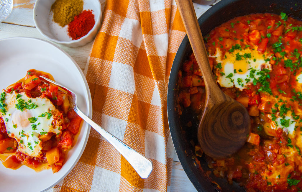 Weeknight Butternut Squash Shakshuka