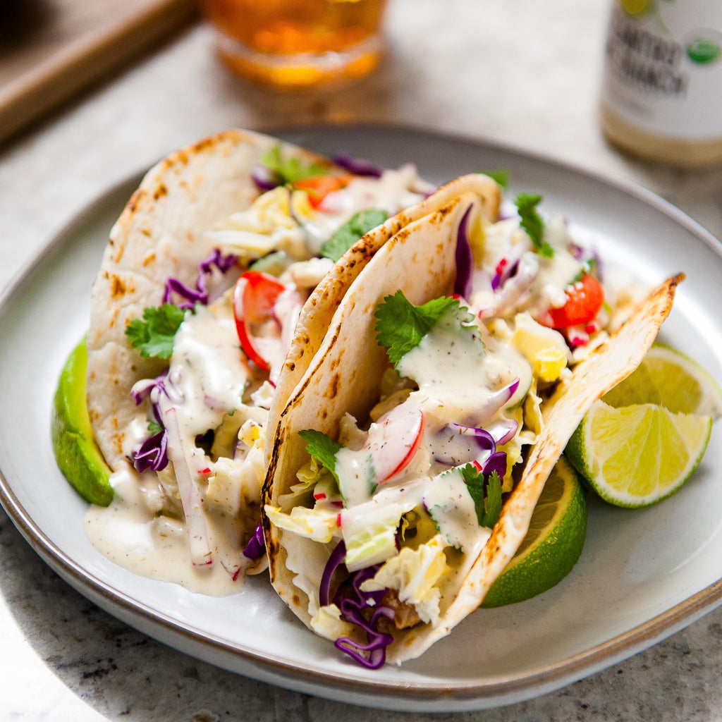 Cilantro Lime Fish Tacos