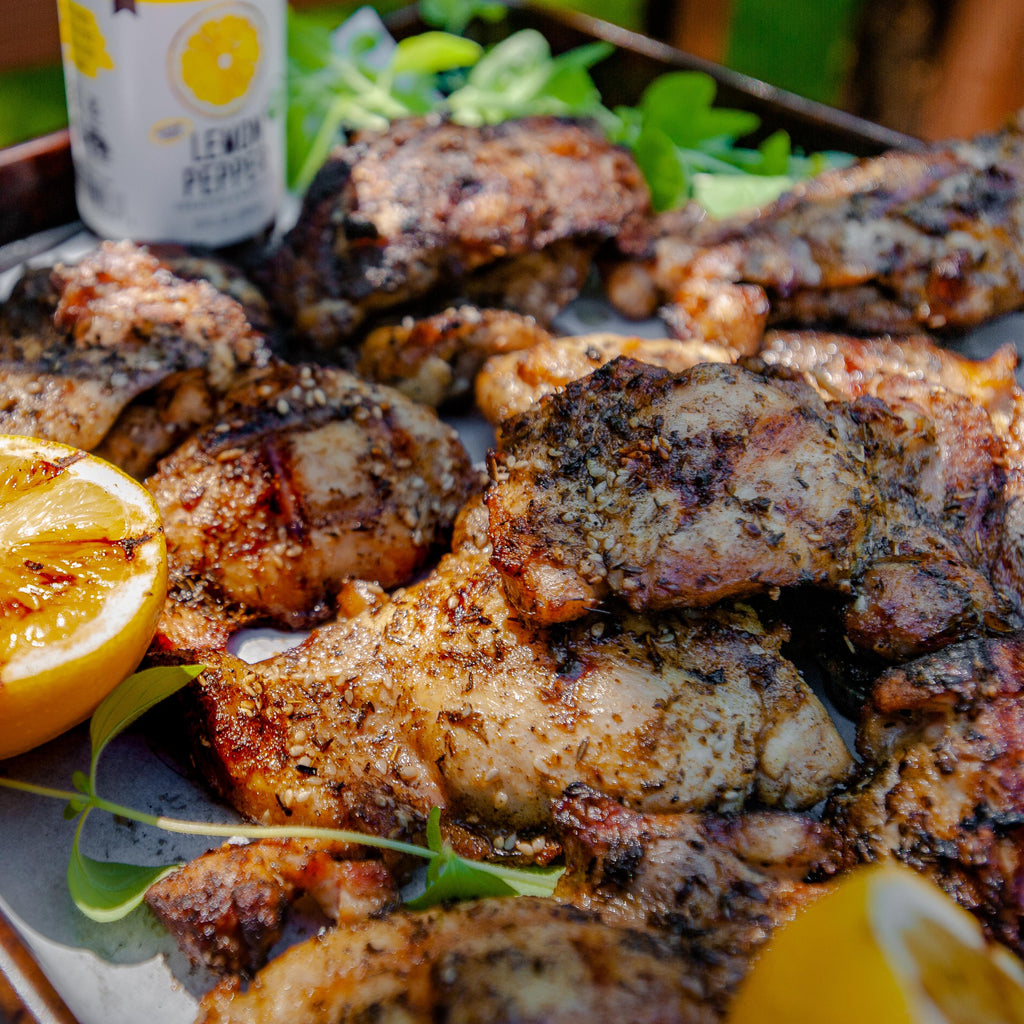 Zaatar & Lemon Grilled Chicken Thighs