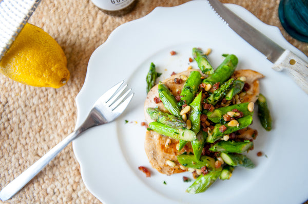 Seared Chicken & Spring Asparagus
