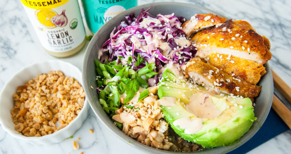 crispy chicken bowl