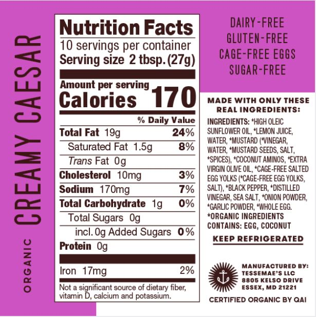 Dr. Axe's Keto Approved Favorites Pack - Tessemae's All Natural