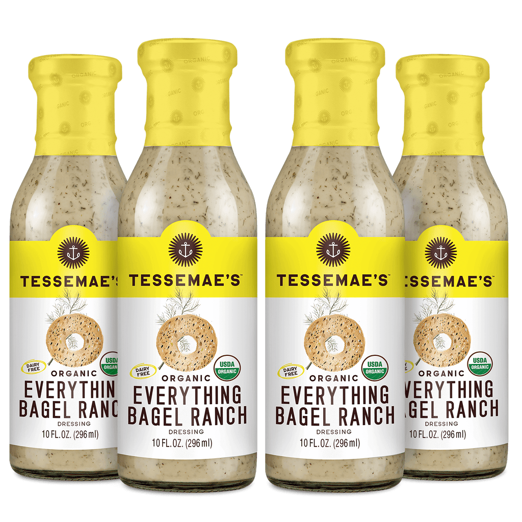 Organic Everything Bagel Ranch Pack - Tessemae's All Natural