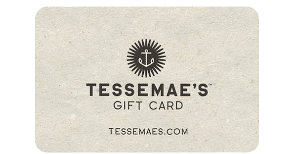 E-Gift Card - Tessemae's All Natural