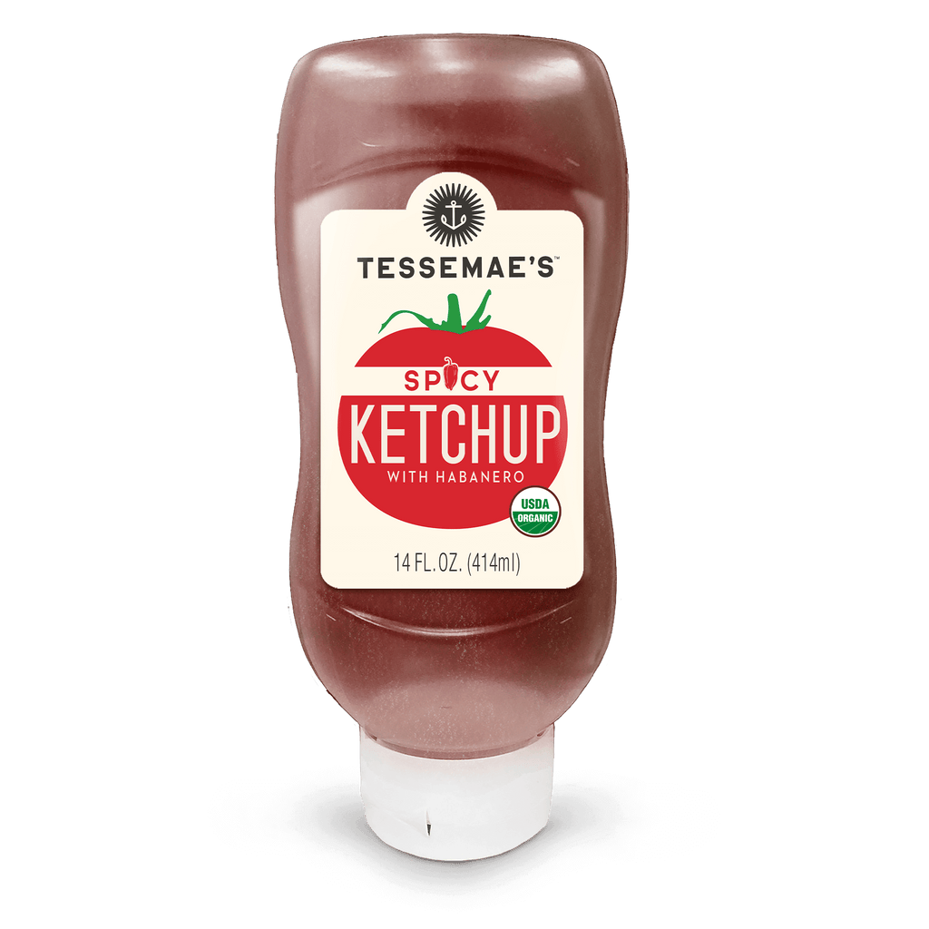 Organic Spicy Ketchup - Tessemae's All Natural