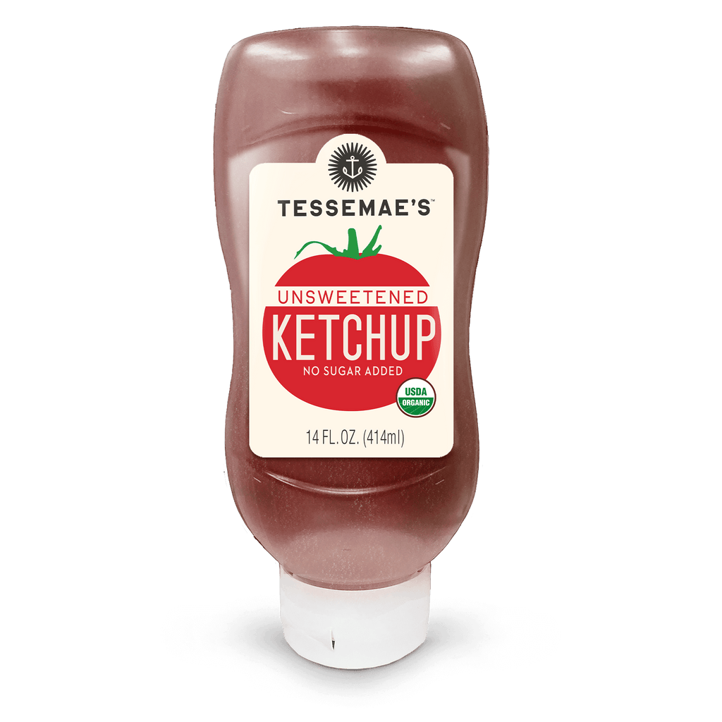 Organic Unsweetened Ketchup - Tessemae's All Natural