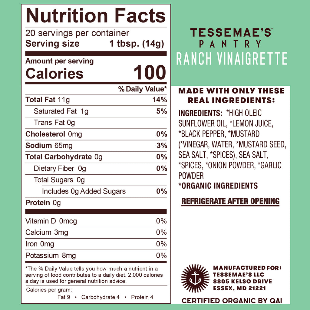 Pantry Goals Pack - Tessemae's All Natural