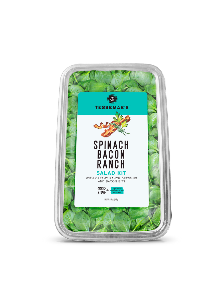 Spinach Bacon Ranch Salad Kit - Tessemae's All Natural