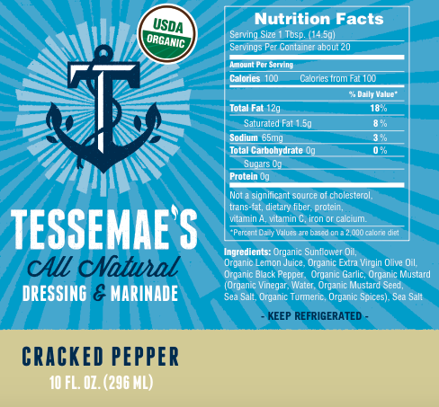 Whole30 Pack - Tessemae's All Natural