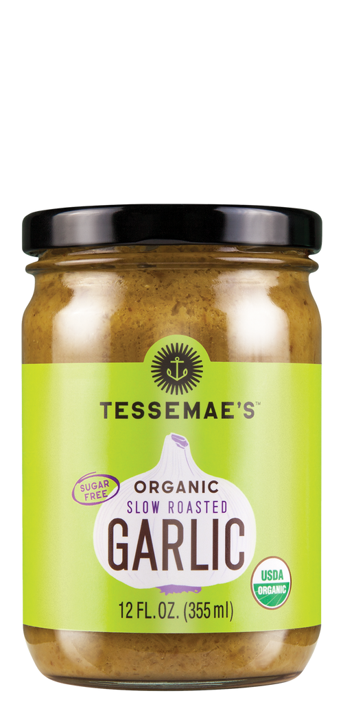 Organic Slow Roasted Garlic Spread - Tessemae's All Natural