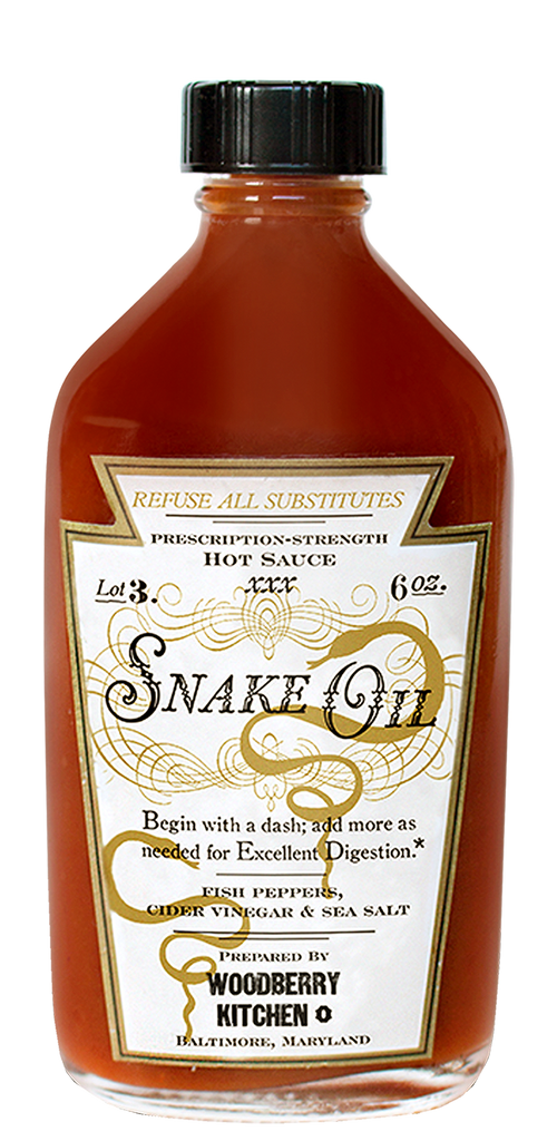 Snake Oil Hot Sauce - Tessemae's All Natural