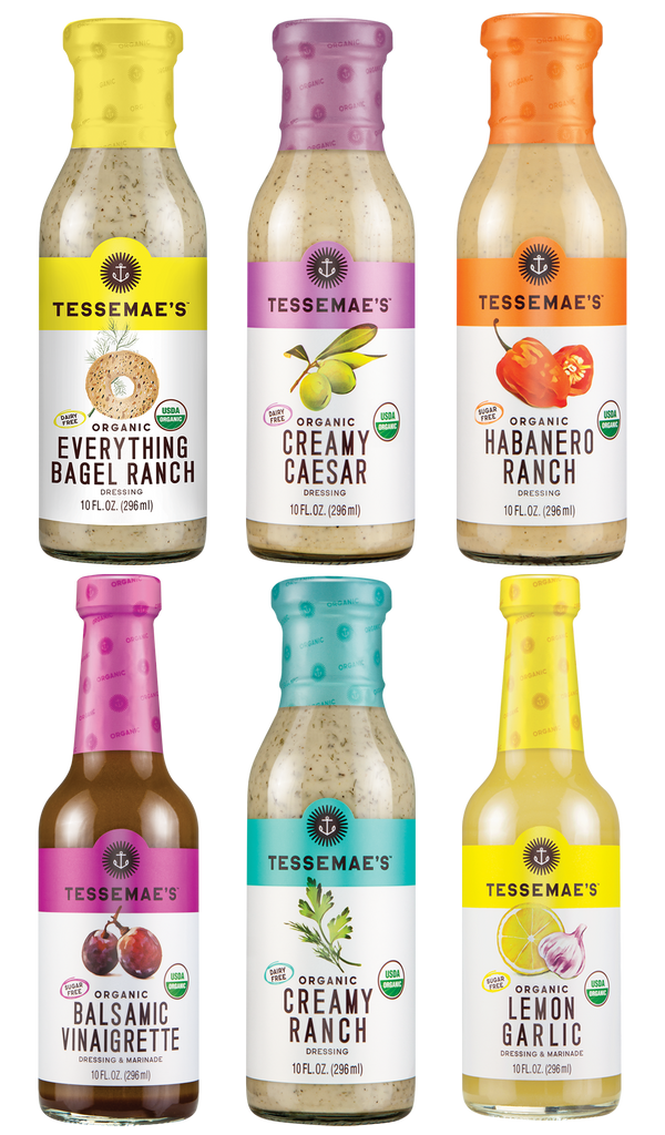 Whole 30 Dressings - Tessemae's All Natural