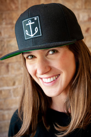 Tessemae's Anchor Logo Snapback Hat - Tessemae's All Natural