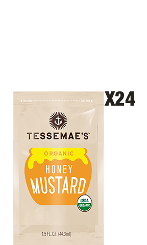 Honey Mustard To Go Pack - Tessemae's All Natural