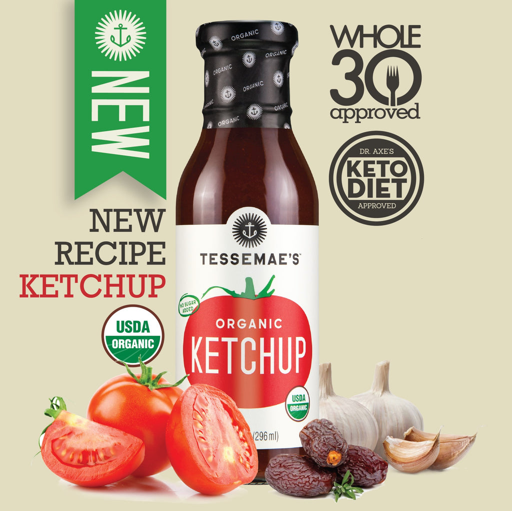 Organic Ketchup - Tessemae's All Natural