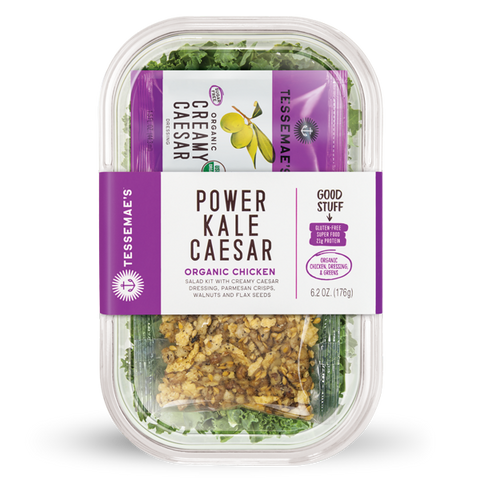 Power Kale Caesar Salad Kit - Tessemae's All Natural