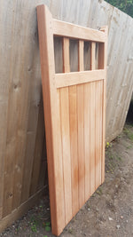 Sapele Flat Open Side Gate