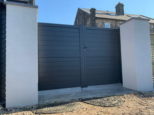 Elite Aluminium Flat Top Gates