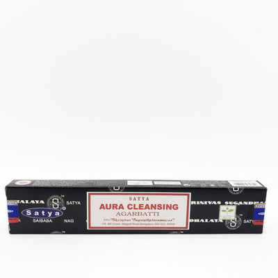 Satya Aura Cleanse Stick Incense