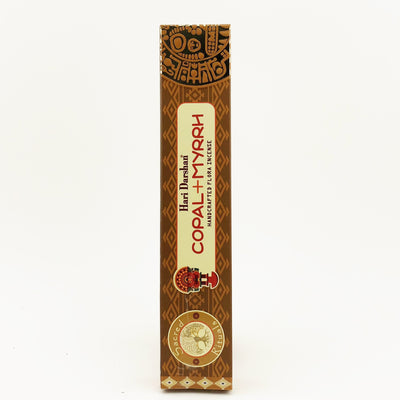 Hari Darshan Copal & Myrrh Stick Incense