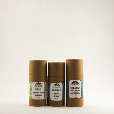 "Healing Blends ""Day Oh Morning"" Aroma Scents Trio"