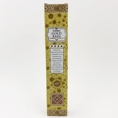Goloka Gold Rain Stick Incense