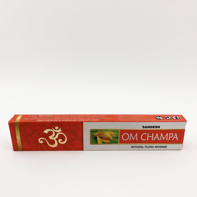 Sandesh Om Champa Stick Incense