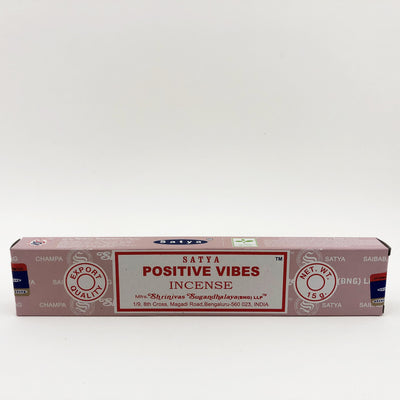 Satya Positive Vibes Stick Incense