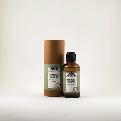 Healing Blends Sore Muscle Remedy Massage Oil