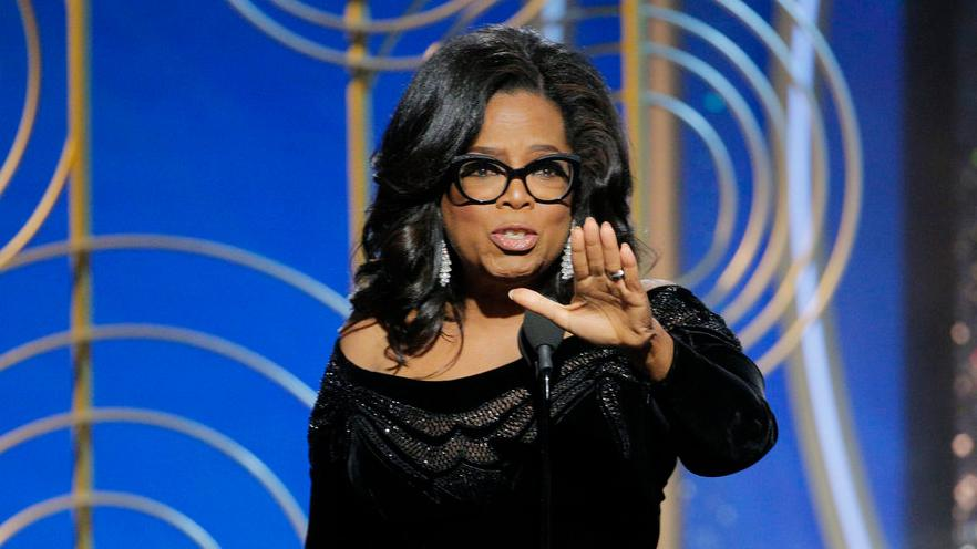Oprah & #MeToo. TimesUp Movement Against Sexual Harassment.