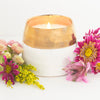 Adelaide Candle - soy blend candle handpoured by women artisans in the U.S., ethically made