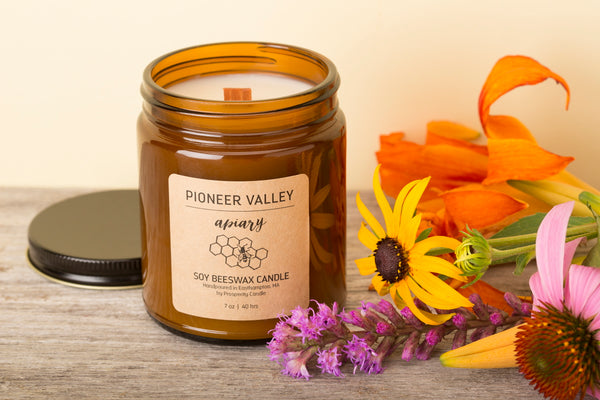 Pioneer Valley Apiary beeswax candle - What's the eco impact of a candle?
