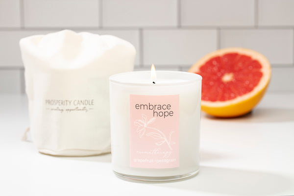 Embrace Hope Be Well Candle - 5 Aromatherapy Scents for Stress Relief