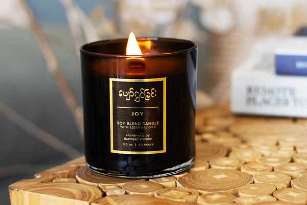 Prosperity Candle - 10 Incredible Refugee-Made Products that Give Back to Artisans and the Community